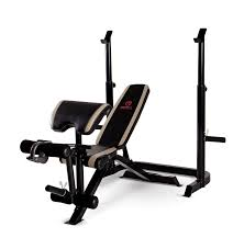 amazon com marcy diamond adjustable olympic weight bench md 879