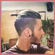 top knot mens hairstyles latest men s hairstyles the top knot with regard to taper fade
