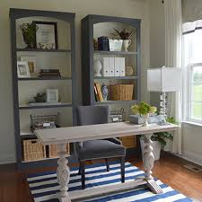 Bookcases Office Depot Check Out The Diy Bookshelves In This Home Office