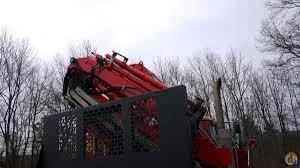 sold 8563 mack fassi knuckleboom crane truck 10 ton crane for