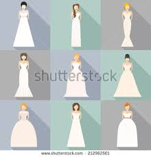 wedding dress type wedding dress stock images royalty free images vectors