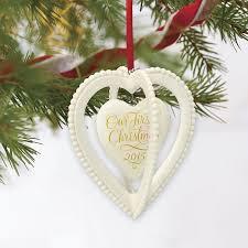 amazon com hallmark keepsake ornament our first christmas