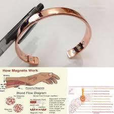 magnetic copper bracelet images Unisex magnetic copper bracelet healing bio therapy arthritis pain jpg