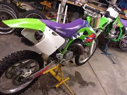 1997 kx250 restoration updated old moto motocross