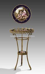 noble painted porcelain bronze chess game table european design