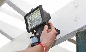 how to install sensor light how to install a solar sensor light bunnings warehouse
