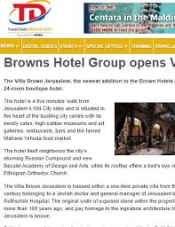 press brown hotels
