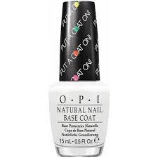 opi natural nail color boosting base coat put a coat on 15ml