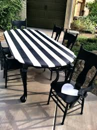 Black And White Striped Dining Chair Dining Chairs Unique Oval Wood Dining Table Centerpieces