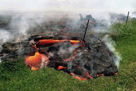 Hawaii Lava Flow Map Hawaii Town Braces For Lava From Kilauea Volcano Photos Abc News