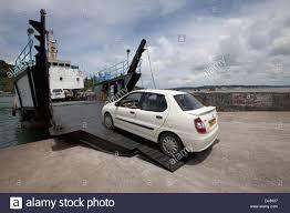 peugeot india government vehicle ferry andaman island india stock photo