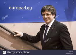 brussels belgium 24th jan 2017 carles puigdemont president of