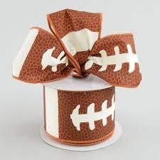 football ribbon 2 5 football laces ribbon 10 yards rg1093 craftoutlet