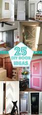 Diy Interior Doors by 25 Great Diy Door Ideas