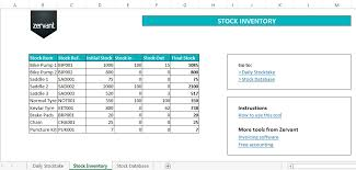 Excel Templates For Inventory Management Free Inventory And Stock Management Tool In Excel