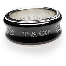 silver rings tiffany images Tiffany co 1837 wide band ring 925 silver titanium tif out=j