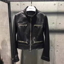 real leather motorcycle jackets online get cheap sheepskin bomber aliexpress com alibaba group