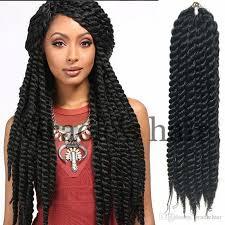 crochet hair extensions wholesale 100 kanekalon 24 inch mambo twist crochet braids