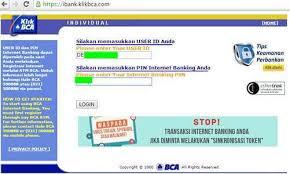Klikbca Individual Bca Individual Layanan Banking Dari Bank Bca