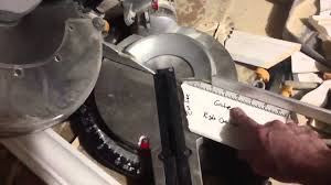 How To Cut Crown Molding Angles For Kitchen Cabinets How To Cut Crown Molding Outside Corners Youtube