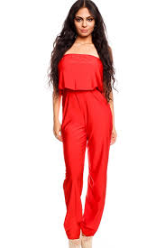 top jumpsuit top style stretchy material casual jumpsuit
