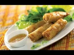 cuisine vietnamienne facile recette des nems vietnamiens au crabe et aux crevettes