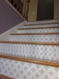 best 25 stenciled stairs ideas on pinterest moroccan stencil