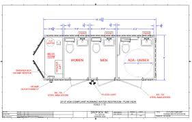 Public Bathroom Dimensions Ada Bathroom Layout U2013 Massagroup Co