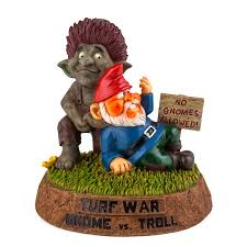 Garden Nome by The Troll Vs Gnome Garden Statue Bigmouth Inc