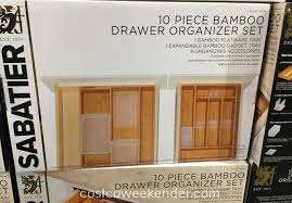 Bamboo Silverware Holder Bamboo Drawer Organizer Trays Kd Organizers 5slot Bamboo Drawer