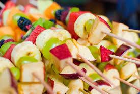 fruit kabobs party ideas pinterest baby shower finger foods