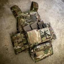 Uniform Flag Patch Spartan Village Laser Cut Us Flag Patch Large Ir Version R