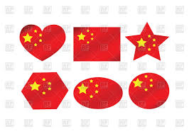 Image Chinese Flag China Flag Design Elements Royalty Free Vector Clip Art Image