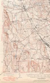 Map Of Albany New York by Albany Ny Quadrangle