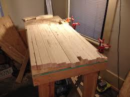 butcher block table build album on imgur butcher block table build