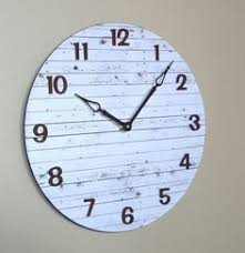 Unique Large Wall Clocks Our Monochromatic Wall Clock Is Embossed With Large White Numerals