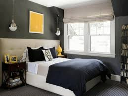 master bedroom color ideas classic wooden chest grey wall paint