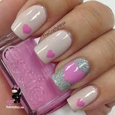 valentine heart nail nails nailart nails popular pins