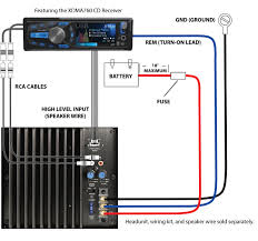 subwoofer wiring diagrams and car sub and amp diagram saleexpert me