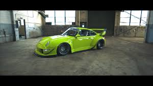rwb porsche yellow porsche 993 gets rwb treatment and a short film made on it