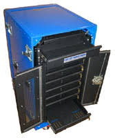 laptop lock up esd protection secure cabinets carts