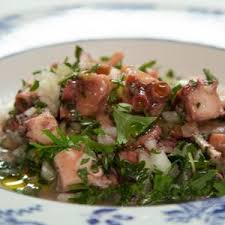 recette de cuisine portugaise facile salade de poulpe à la portugaise salada de polvo salade de