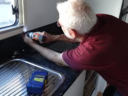 step by step guide to re sealing your caravan window without a