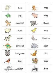 78 best language english animals images on pinterest english