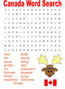 canada day worksheets
