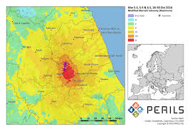 Assisi Italy Map by Series Of October Earthquakes In Italy Spur 125 Million Euro Loss