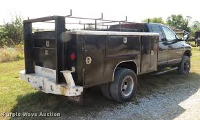 Dodge 3500 Diesel Utility Truck - 2006 dodge ram 3500 big horn quad cab utility bed pickup tru