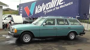 1980 mercedes benz 300 td sd turbo diesel 300td wagon bio w123