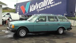 mercedes 300 turbo diesel 1980 mercedes 300 td sd turbo diesel 300td wagon bio w123