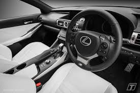 lexus sport car interior transcal